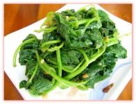 燙青菜-江太太牛肉麵